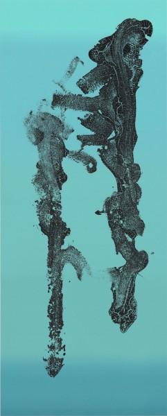 Aztecube III (Blue Gradient)