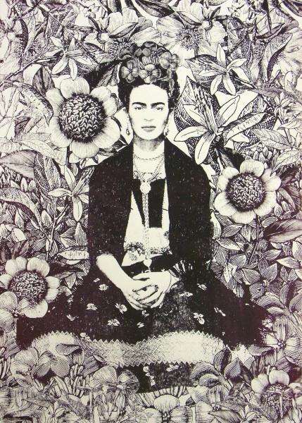 Frida Kahlo - Adeline Meilliez