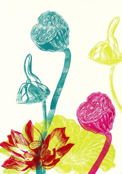 Exotische Blumen 1 - Nina Heinke & Verena Postweiler
