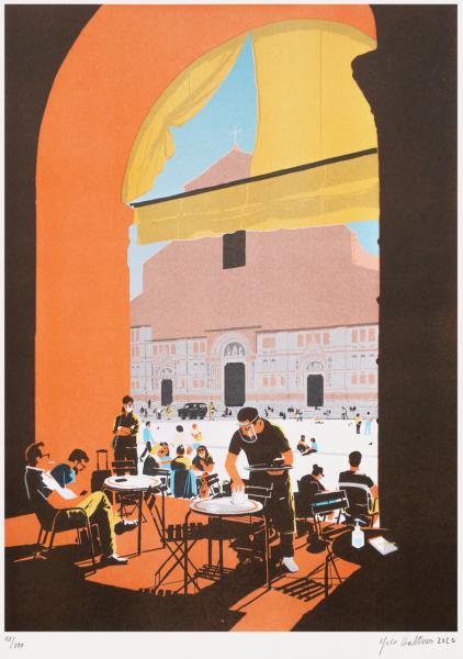 Yves Haltner - Piazza Maggiore III