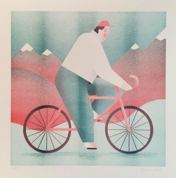 Radfahrer - Magda Wilk