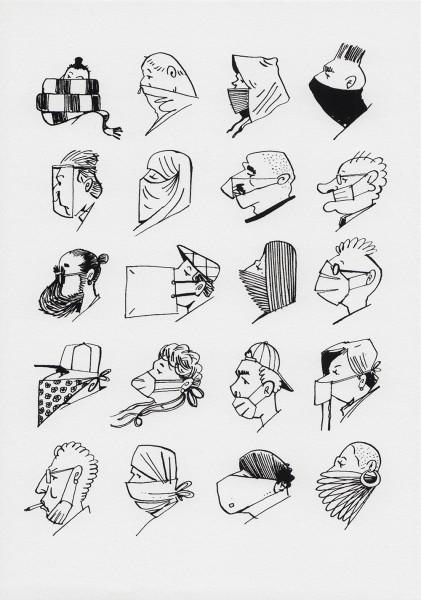 Masken - Yves Haltner