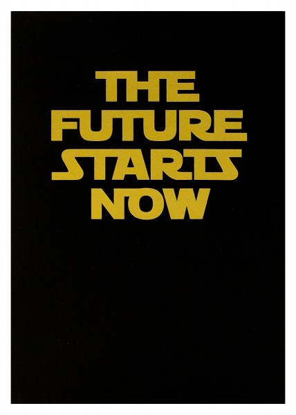 The future starts now