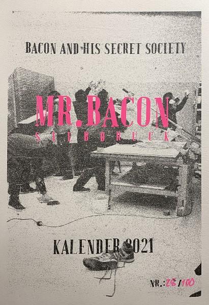 Mr. Bacon - Kalender 2021